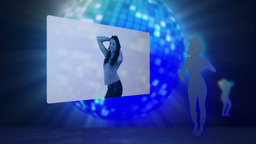 Videos of women dancing Stock Video Footage