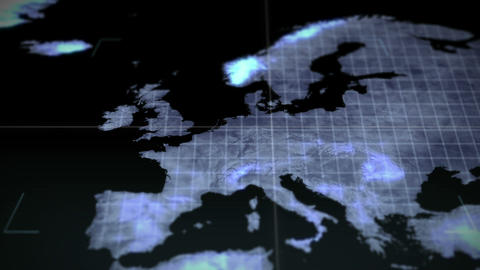 Video of a map Earth image courtesy of Nasa.org Animation