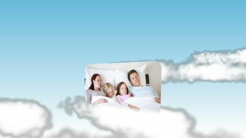 Family videos in the sky Animation