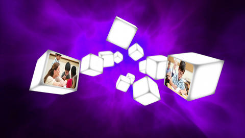 Video of classroom with children Stock Video Footage
