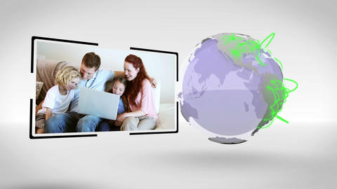Families all around the world connected with an Ea Animation