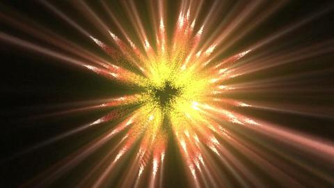 Moving orange lines of fluorescent lights Footage