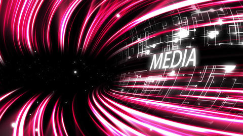 Video of a pink lines with text Stock Video Footage