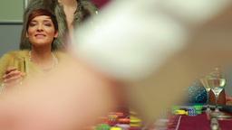 Three women winning money Footage