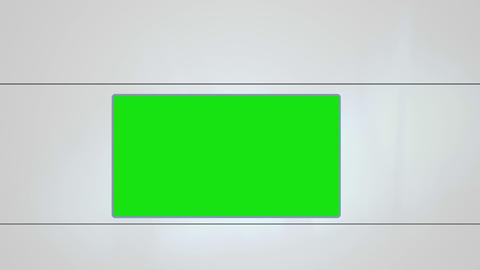 Chroma key on white background Stock Video Footage