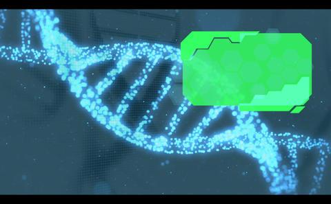 Chroma Keys On Helix Background stock footage