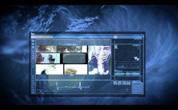 Montage of medical interfaces and reseach clips Stock Video Footage