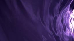 Purple cloth waving Stock Video Footage