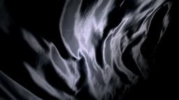 Black silk rippling Stock Video Footage