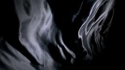 Black sensual silk moving Stock Video Footage
