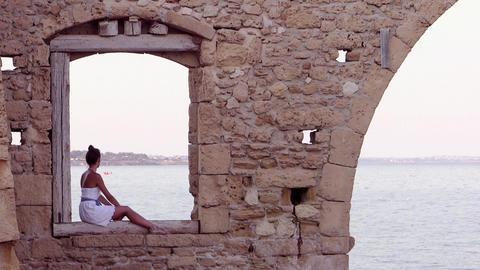 Sicily, Avola. Tonnara stock footage