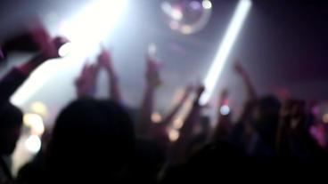 Heavy Club Dance Scene stock footage