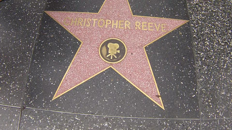 hollywood walk of fame star walking shot christoph Live Action