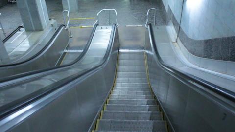 Escalator stairway Footage