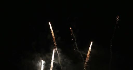 1937 Fireworks, 4K Stock Video Footage