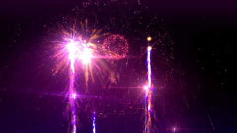 Fireworks 4K Animation