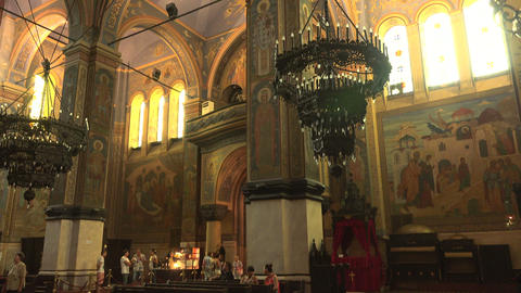 The Cathedral of the Assumption in Varna, Bulgaria Footage