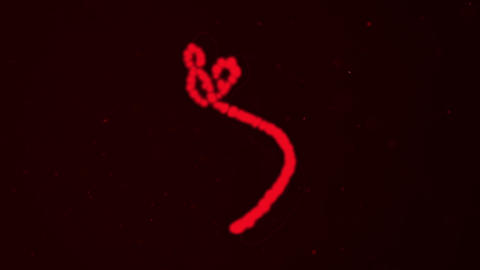 2002 Ebola Virus Animation, 4K stock footage