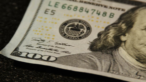 2013 United States one hundred dollar bill, HD Stock Video Footage