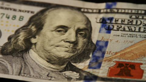 2013 United States one hundred dollar bill, HD Footage