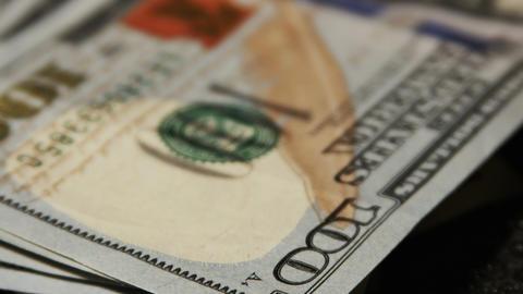 2020 United States one hundred dollar bill, 4K Footage