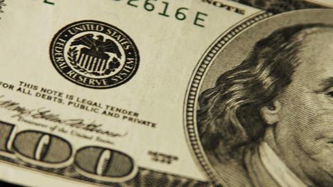 2025 United States one hundred dollar bill, 4K Footage