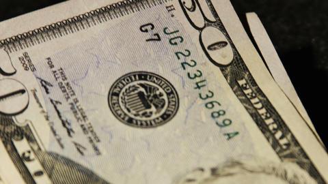 2026 United States fifty dollar bill, HD Footage