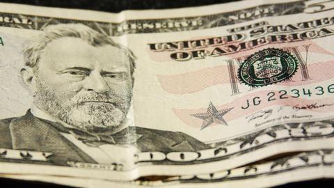 2029 United States fifty dollar bill, HD Footage