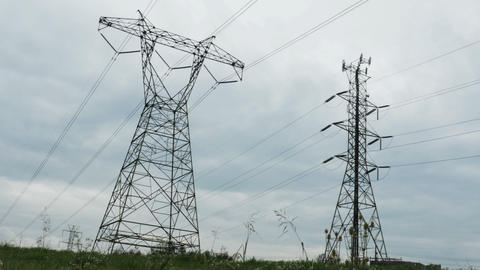 2034 Power Lines Wire, HD Footage