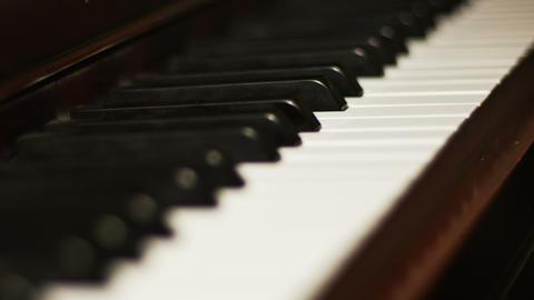 2038 Piano Close Up, 4K Footage