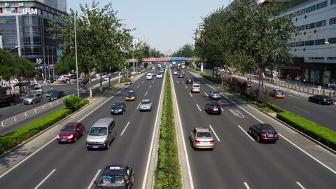 Beijing street view HD Stock Video Footage