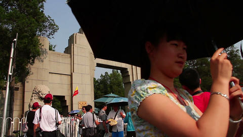 Qinghua University at daytime HD Stock Video Footage