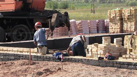 Builders , workers Footage