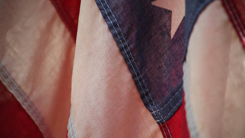 USA flag close up Footage
