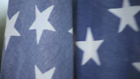 flag of USA Footage