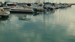 Boats Moored in a Marina in Perth Stock Video Footage