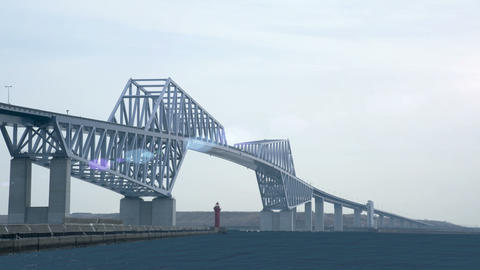 Tokyo Gate Bridge Animation