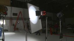 HD2008-12-7-45 TV set Stock Video Footage