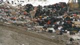HD2008-12-8-4 Landfill Garbage Truck stock footage