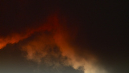 HD2008-12-9-34 Steam cloud obscured sun Stock Video Footage
