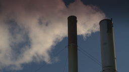 HD2008-12-9-40 Smoke stacks winter CK filter Footage