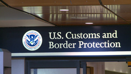 HD2008-12-10-13 US customs and immigration Stock Video Footage