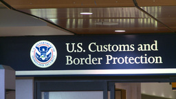 HD2008-12-10-13 US customs and immigration Footage