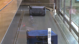 HD2008-12-10-25 TL Airport luggage Stock Video Footage