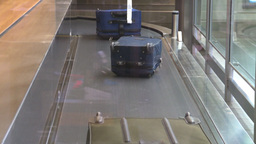HD2008-12-10-25 TL Airport luggage Footage