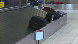 HD2008-12-10-27 Airport luggage carousel Footage