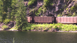 HD2008-7-1-18 coal train lake Footage