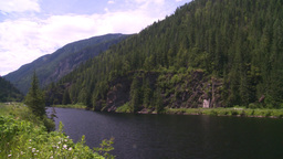 HD2008-7-1-24 summit lake Stock Video Footage