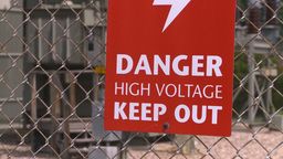 HD2008-7-1-47b high voltage signZ Footage