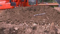 HD2008-7-1-51 backhoe scoop Footage